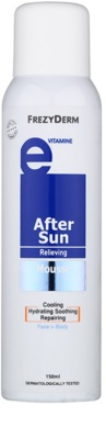 Frezyderm Sun Care пяна за след слънчеви бани за лице и тяло с витамин Е