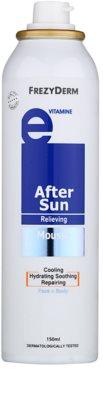 Frezyderm Sun Care пяна за след слънчеви бани за лице и тяло с витамин Е 1