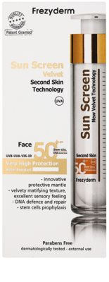 Frezyderm Sun Care crema protectoare pentru fata SPF 50+ 2