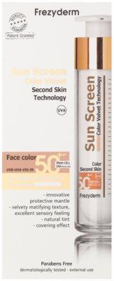 Frezyderm Sun Care tónovaný ochranný krém na obličej SPF 50+ 2