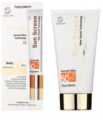 Frezyderm Sun Care Creme de protectie impotriva soarelui pentru corp SPF 50+ 1