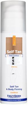 Frezyderm Sun Care lotiune autobronzanta pentru fermitatea pielii