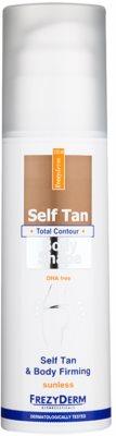Frezyderm Sun Care samoopalovací tělové mléko pro zpevnění pokožky