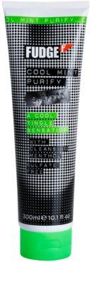 Fudge Cool Mint Purify hydratisierendes Shampoo mit kühlender Wirkung