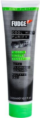 Fudge Cool Mint Purify vlažilni šampon s hladilnim učinkom