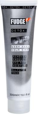 Fudge Detox champú limpiador en profundidad con efecto humectante
