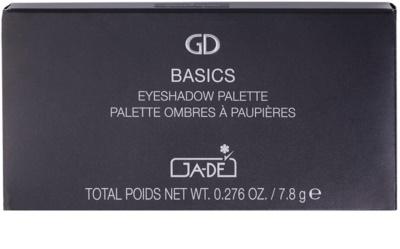 GA-DE Basics paleta očních stínů se zrcátkem 2
