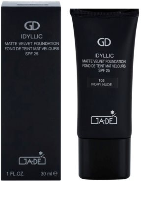 GA-DE Idyllic make up z matowym wykończeniem 1