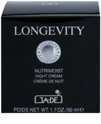 GA-DE Longevity crema nutritiva de noche con efecto antiarrugas 3