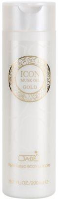 GA-DE Icon Musk Oil Gold leite corporal para mulheres