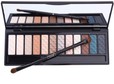 GA-DE Neutrals paleta de sombras de ojos con espejo y aplicador 1