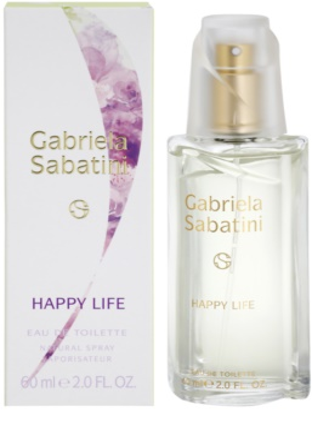 Gabriela Sabatini Happy Life eau de toilette nőknek