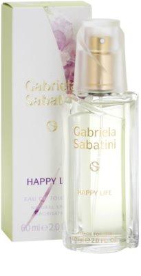 Gabriela Sabatini Happy Life Eau de Toilette für Damen 1