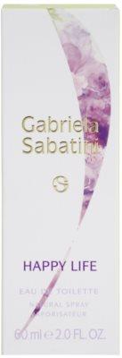 Gabriela Sabatini Happy Life Eau de Toilette für Damen 4