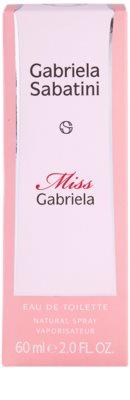 Gabriela Sabatini Miss Gabriela Eau de Toilette für Damen 4