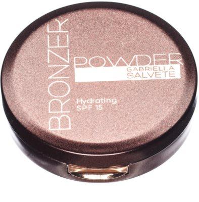 Gabriella Salvete Bronzer Powder polvos con efecto bronceado SPF 15 1