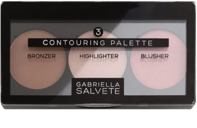 Gabriella Salvete Contouring Palette palete de cores para contorno de rosto 1