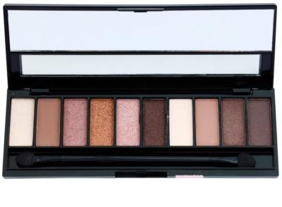Gabriella Salvete Palette 10 Shades paleta farduri de ochi cu oglinda si aplicator