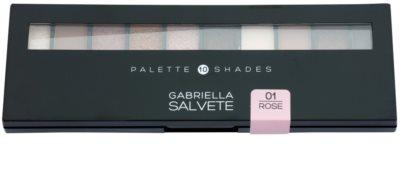 Gabriella Salvete Palette 10 Shades paleta cieni do powiek z lusterkiem i aplikatorem 1