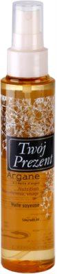 Galénic Argane óleo seco nutritivo para rosto, corpo e cabelo