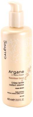 Galénic Argane leite corporal intensivo  para hidratação de pele e com efeito lifting