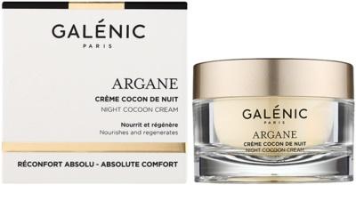 Galénic Argane crema de noche nutritiva  con efecto regenerador 1