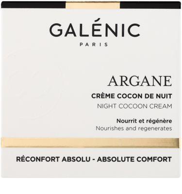 Galénic Argane crema de noche nutritiva  con efecto regenerador 2