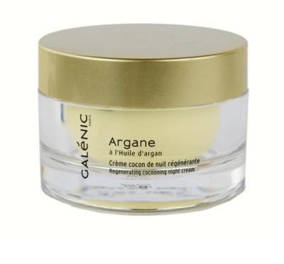 Galénic Argane Feuchtigkeitsspendende Nachtcreme mit ernährender Wirkung für trockene bis sehr trockene Haut