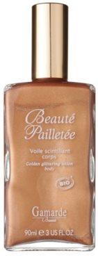 Gamarde Beauté Pailletée gel de banho com óleo e brilhantes dourados