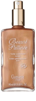 Gamarde Beauté Pailletée csillogóan arany olajos gél a testre 1