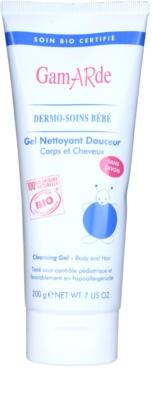 Gamarde Bébé gel de limpeza suave para o cabelo e corpo para crianças