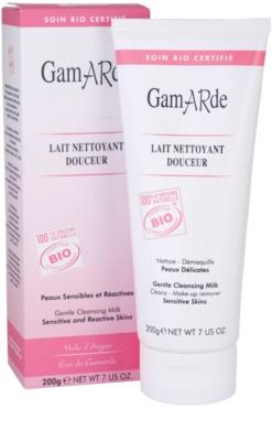 Gamarde Cleansers leche desmaquillante para pieles sensibles 1