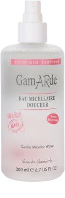 Gamarde Cleansers micelláris víz az érzékeny arcbőrre 1