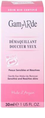 Gamarde Cleansers desmaquilhante para pele e olhos sensíveis 4