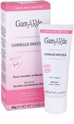 Gamarde Cleansers peeling do twarzy dla cery wrażliwej 1