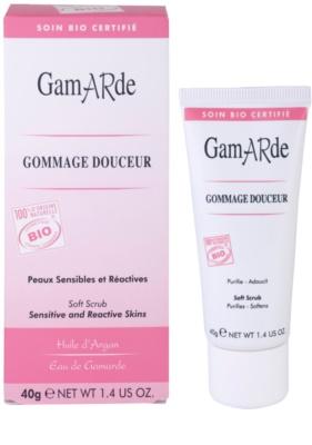 Gamarde Cleansers peeling do twarzy dla cery wrażliwej 2