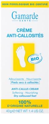 Gamarde Foot Care Dry Feet crema emoliente y nutritiva para los callos 2