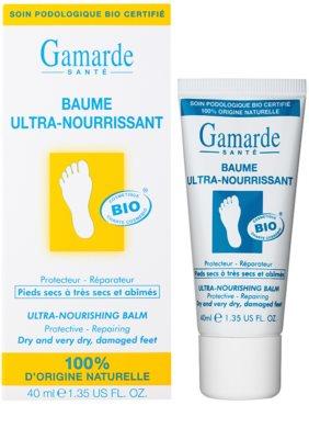 Gamarde Foot Care Dry Feet intensives nährendes und regenerierendes Balsam für trockene bis sehr trockene Füßsohlen 1