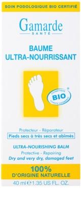 Gamarde Foot Care Dry Feet интензивен подхранващ и регенериращ балсам за много сухи ходила 2