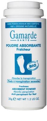 Gamarde Foot Care Excessive Perspiration frissítő lábpúder az erőteljes izzadás ellen