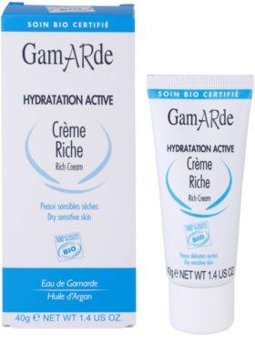 Gamarde Hydratation Active crema hidratante y nutritiva para pieles secas y sensibles 2