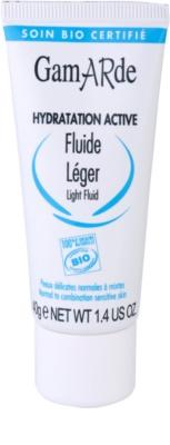 Gamarde Hydratation Active Fluído hidratante leve para pele normal a mista