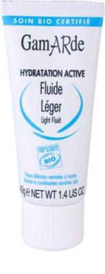 Gamarde Hydratation Active leichtes, feuchtigkeitsspendendes Fluid für normale Haut und Mischhaut