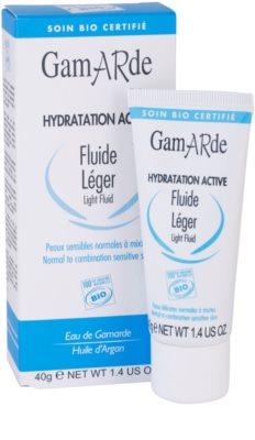 Gamarde Hydratation Active loción hidratante ligera para pieles normales y mixtas 1