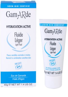 Gamarde Hydratation Active lehký hydratační fluid pro normální až smíšenou pleť 2