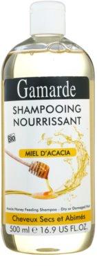 Gamarde Hair Care champô nutritivo para cabelo seco a danificado