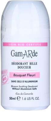 Gamarde Hygiene pomirjevalni dezodorant roll-on z vonjem cvetja