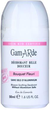 Gamarde Hygiene zklidňující deodorant roll-on s vůní květin