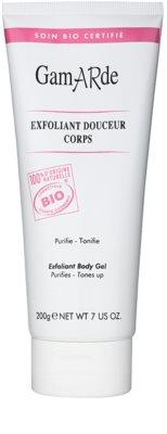 Gamarde Hygiene gel exfoliante suave y calmante para el cuerpo