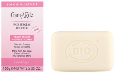Gamarde Hygiene tisztító szappan száraz és érzékeny bőrre